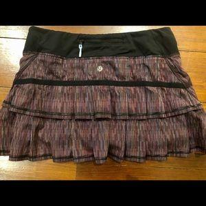 Lululemon Pace Setter Skirt Size 6 Regular